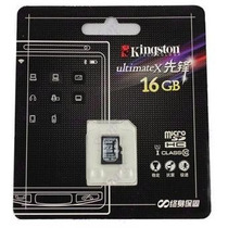 Tarjeta De Memoria Kingston Micro Sd 16 Gb Class 10