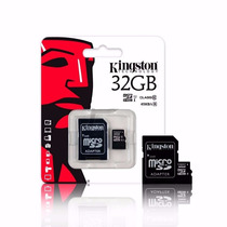 Memoria Kingston Micro Sd 32gb Clase 10 Original