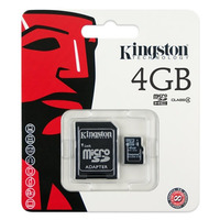 Memoria Micro Sd Kingston 4gb Clase 4 Originales