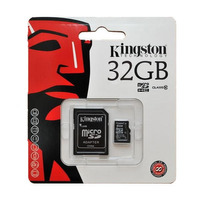Memoria Kingston Microsd 32gb Clase 10 Ideal Celu Full Hd
