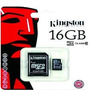 Memoria Micro Sd Hc 16gb Kingston Clase 10 Belgrano