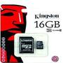 Memoria Micro Sd Hc 16gb Kingston Clase 10 Belgrano