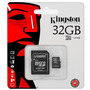 Memoria Microsd Sd 32gb Kingston Clase 4 Tienda Oficial