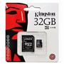 Memoria Microsd Hc 32gb Kingston Clase 10 Original Mendoza