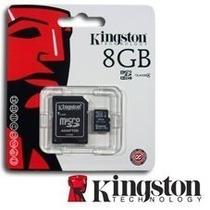 Memoria Kingston Micro Sd Hc 8gb Clase 4 Belgrano