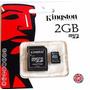 Memoria Micro Sd 2gb Kingston Sellado 100% Nuevo
