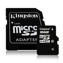 Microsdhc Sandisk 16gb Clase10 + Adaptador Sd Video Full Hd