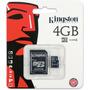 Memoria Kingston Micro Sd Hc 4 Gb Original Garantía 5 Años!