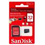 Tarjeta Memoria Sandisk Microsd + Sdhc 32gb Gtia Cbtelefonia