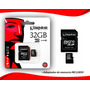Tarjeta De Memoria Kingston Microsd 32gb Oferta!!!