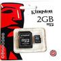 Memoria Micro Sd Kingston De 2gb En Blister Envios!!!