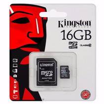 Memoria Kingston Micro Sd 16gb Clase 10 Original