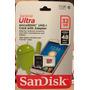 Memoria Micro Sd Sandisk Ultra 32gb C10-u1- No China