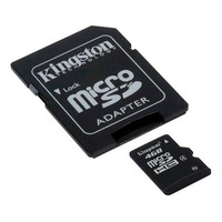 Memoria Micro Sd Hc Kingston 4gb Tf C/adaptador Sd Factura A