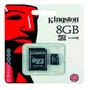 Micro Sdhc Ultra Android 8gb Kingston Clase10 Lomasde Zamora