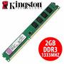 Memoria Ram 2gb Kingston Ddr3 Pc 1333 Mhz 2048mb Kvr 1.5v