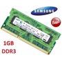 Memorias Sodimm Ddr3 1gb 1333 Pc3 10600 - Samsung Y Otras