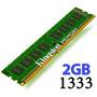 Memoria Ram 2gb Kingston Ddr3 Pc 1333 Mhz 2048 Mb 1 Año Gtía