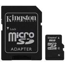 Memoria Micro Sd Con Adaptador De Regalo Kingston 8gb
