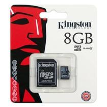 Memoria Kingston Micro Sd 8gb Hc Clase 4 +adaptador Oferta !