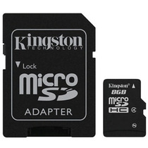 Memoria Sd Micro Sd Hc 8 Gb - Camaras - Celulares - Gps