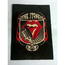 Rolling Stone Carpeta 3 Solapas C/ Elástico Oficio Nueva