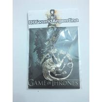 Collar Casa Targaryan Game Of Thrones Got Colgante