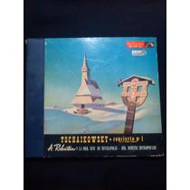 4 Vinilos Tschaikowsky Concierto Nº1 A. Rubinstein Si Bemol