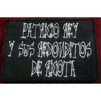 Redondos Parche Bordado En La Plata *9y530*
