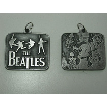 The Beatles Colgante Dije Doble Collar En Stock