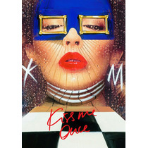 Rebajado!! Kylie Minogue Kiss Me Once Tourbook Tamaño Xl