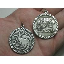 Game Of Thrones Juego De Trono Targaryen Dije Doble En Stock
