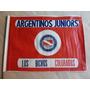 Antigua Bandera De Argentinos Juniors