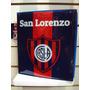 Carpeta Oficial San Lorenzo 3 Anillas - Microcentro