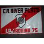 Vieja Bandera De Plastica De River Metro 1975 - No Envio