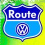 Calcomania De Volkswagen Fox Route