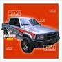Calco Franja Mazda Pick Up 4wd . Calcomania Ploteoya