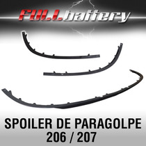 Spoiler De Paragolpe Para Peugeot 207 Y 206