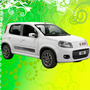 Calcomania Decoracion Fiat Uno Sporting
