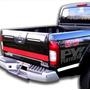 Calco Nissan Frontier 4x4 Heavy Duty Calcomania * Ploteoya