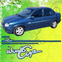 Calcomania Decoracion Chevrolet Corsa World Cup