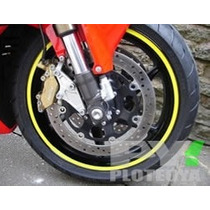 Cintas Para Llantas De Moto-auto Reflectivas - Fluo - Standa