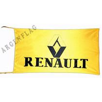 Banderas Renault 150x75 Cm * Sandero Mégane Clio Kangoo...