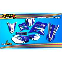 Kit Calcos Yamaha Ttr 230 Sport Laminado Grueso Competicion