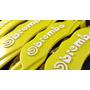 Cubre Calipers Brembo / Logo 3d / Amarillo / Envíos / Abs