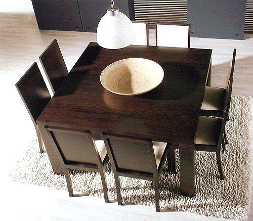 Mesa cuadrada laqueada car interior design - Mesa cuadrada comedor ...
