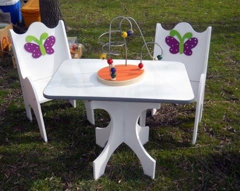 Mesitas con sillitas infantiles imagui - Mesas infantiles madera ...