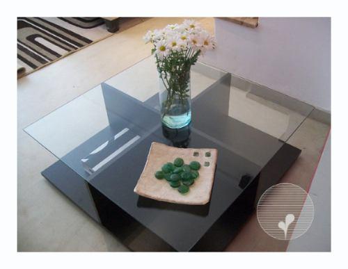 Mesas ratonas en melamina varios modelos env o gratuito for Diseno de mesa de madera con vidrio