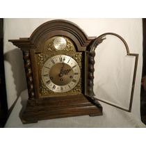 Reloj De Mesa Carrillon Westminster Ocho Martillos 5 Tubos