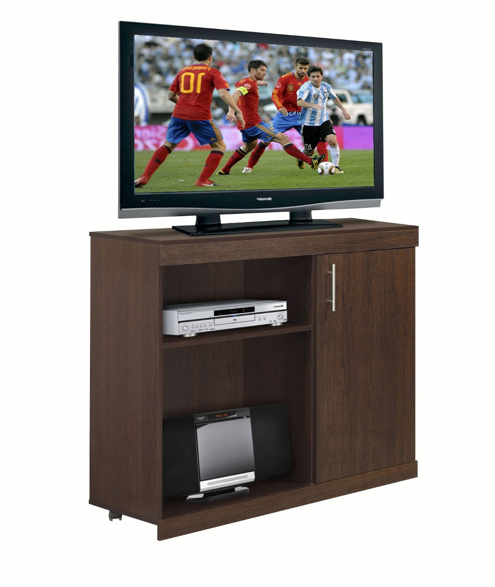 Mesa de tv mosconi con ruedas art 120 santa clara relojes - Mesas con ruedas para tv ...